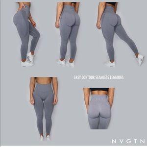 Like New Gray NVGTN Leggings
